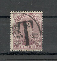 "BELGIUM-BELGIQUE-USED STAMP-OVERPRINT ""T"""
