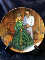 """Knowles Fine China-""""Gone With the Wind Collection- Scarlett's Green Dress""""-Plate"""