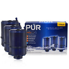 NEW PUR MineralClear Faucet 3 Stage Refill Filters 3 Pack RF-9999 Blue SEALED