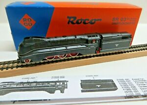 Roco N 23203 02103 A Power Lines - Steam Br 03 1050 The DRG Tested Boxed