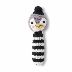 Weegoamigo Crochet Rattle Poppy Penguin