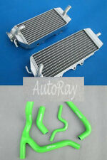 Aluminum Radiator & Hose Kawasaki KX250F KXF250 KX 250 F 06 07 08 2006 2007 2008