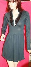 Silvian Heach Super  super sexy   mini abito scollo di  paiettes tg s 38 40