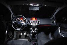 Ford Fiesta MK7 LED Xenon White Interior Lights Bulbs Kit
