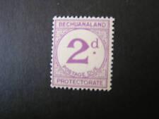 BECHUANALAND, SCOTT # J6, 2p. VALUE POSTAGE DUE 1932 MH