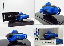 RC Sous-Marin Télécommandé R/C Top Lights sous-marin 40 MHz Bleu Nouveau
