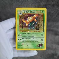 Pokemon Karte | Erika's Gloom 46/132 Duflor | TCG 1999 | Near Mint