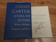JIMMY CARTER signed A CALL TO ACTION Women, Religion, Violence, and Power Book