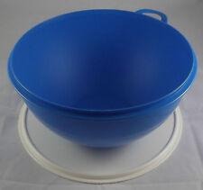 Tupperware B 04 Maximilian 7,5 l Schüssel Rührschüssel blau / weiß Neu OVP