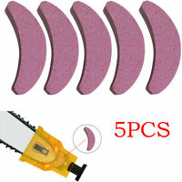 Woodworking Chainsaw Teeth Chain Saw Sharpener Sharpening Stone Grinding Tool US