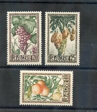 ALGERIA Sc 229-31(YT 279-81)*VF OG 1950 FRUIT SET $25