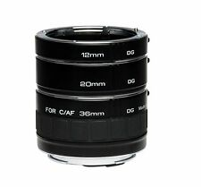Kenko Automatic Extension Tube Set DG 3 Ring DG 12mm 20mm 36mm for Canon EF EFS