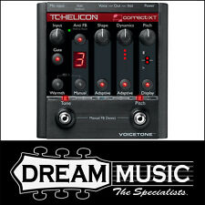 TC Helicon Voicetone Correct XT Multi-FX Vocal Effects Pedal RRP$539