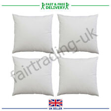"""Hollowfibre Square Cushion Inners Fillers Fill Pads Inserts Scatter 15"""" 17"""" 19"""""""