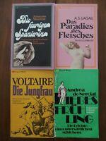 4 Exquisit Erotica Sammlung Erotik Konvolut Klassiker erotische Literatur TBs