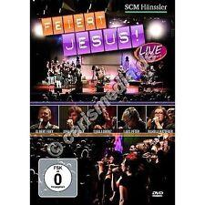 DVD: FEIERT JESUS! - live in concert - 89 Min. Lobpreis *NEU*