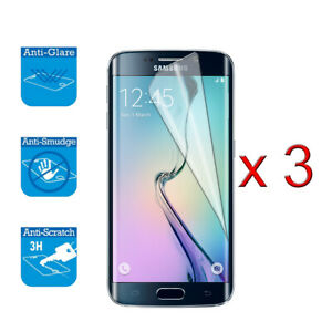 For Samsung Galaxy S6 -Screen Protector Cover Guard LCD Film Foil x 3