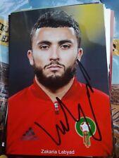 Signiertes Foto Zakaria Labayad Ajax Amsterdam  NEU Marokko PSV EINDHOVEN