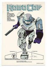 Promo Uncut Sheet--Robo Cop Cutout (1992) 7 5/8 X 10 1/4 Inches
