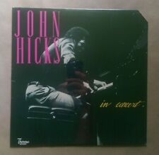 John HIcks / In Concert (LP New) Theresa Records TR 123