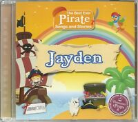 JAYDEN - THE BEST EVER PIRATE SONGS & STORIES PERSONALISED CHILDREN'S CD