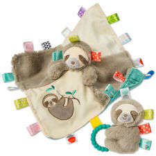 Mary Meyer Taggies Molasses Sloth Blanket & Rattle Set