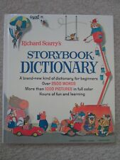STORYBOOK DICTIONARY~Richard Scarry~1993 HC~BEGINNERS WORDS PICTURES~