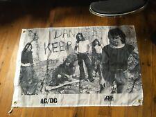 man cave flag Bon Scott Angus young AC dc  Aussie rock band AC DC poster flag