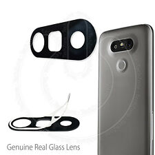 For LG G5 H850 REAL GLASS Back Rear Camera Lens Cover With Adhesive Sticker