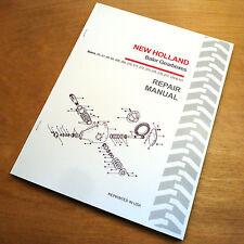 New Holland 65 67 68 69 268 269 270 271 272 Baler Gearbox Service Repair Manual