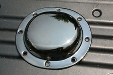 Harley Derby Clutch Cover Chrome Smooth Finish 1936-1964 Panhead Knucklehead 372