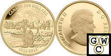 2013 Proof $100 Gold 14K 100th Anniv of the Canadian Arctic Expedition (13104)