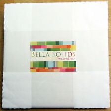 Solids White Moda Layer Cake 42 100% Cotton 10 inch Precut Quilt Squares