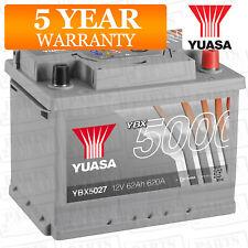 Yuasa Car Battery Calcium Silver Case 12V 620CCA 62Ah T1 For Audi A4 B7 2.0 TDi