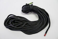 """New England Ropes Nylon Double Braid 3/8"""" X 140' Black with Whipped Ends"""