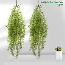Artificial Hanging Plant Pearls Green Flower Vine Fake Succulents Plants String