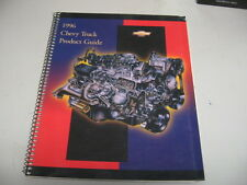 1996 Chevrolet Truck Product Guide S-10 Blazer AstroVan Suburban Tahoe Lumina C/