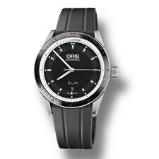 Oris Artix GT Day Date Automatic Steel Mens Rubber Strap Watch 735 7662 4154 RS
