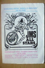 International Meeting Programme 1987- FAREWELL OF ZENON PLECH- JMS ALL STARS