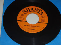 JIMMY WAKELY My Heart Cries For You / Beautiful Brown Eyes SHASTA 45-128 RARE