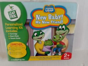 New Leap Frog Learning, New Baby My New Friend Big Brother Sister Cartridge Toy