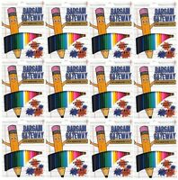 BULK PRICE 12 X Bargain Gateway Colour Therapy Colouring Pencils - Pack of 20
