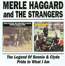 MERLE HAGGARD - THE LEGEND OF BONNIE & CLYDE/PRIDE IN WHAT I AM NEW CD