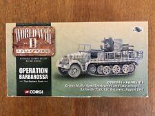 Corgi #CC60001 Ltd Ed WW2 German Luftwaffe Sd-Kfz 7/1 Flak Semi Track Boxed 1/50