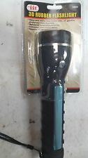 2 Jumbo Flashlight Rubber 3d Emergency Light Car Camping HD Strong Case