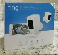 RING Spotlight Cam Battery (2 Pack) 1080p Wi-Fi Camera - SEALED NEW