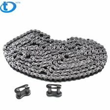 2EACH   33 INCH LONG NEW ROLLER DRIVE CHAIN SINGLE  ANSI 35