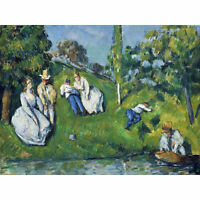 Paul Cezanne The Pond Extra Large Wall Art Print Premium Canvas Mural