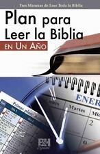 Plan para Leer la Biblia en un Ano by B&H Español Editorial Staff (2011,...