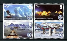 BAT British Antarctic Ter 2016 MNH IAATO 4v Set Penguins Birds Tourism Stamps